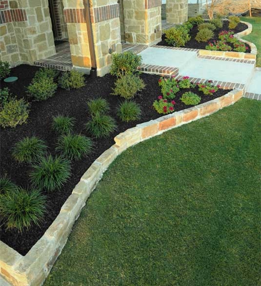 Outstanding Rubber Mulch Landscaping 535 x 588 · 238 kB · jpeg