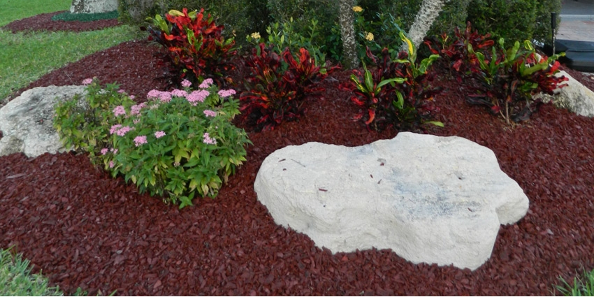 Landscaping With Mulch Pictures : Home landscape mulch rubber for landscaping brown