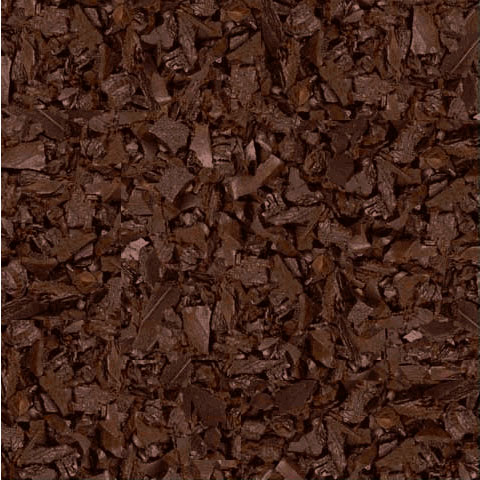 Brown Rubber Mulch For Landscaping