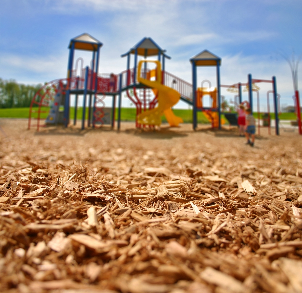 Wood Fiber Mulch For Playgrounds