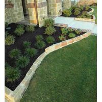Black Landscape Rubber Mulch Customer Photo 1