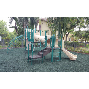 Green Rubber Mulch Customer Photo 2