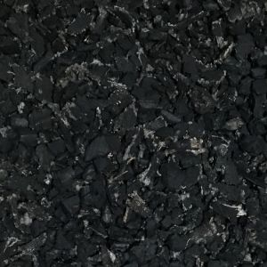 Natural Black Rubber Mulch