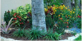 Brown Landscape Rubber Mulch Customer Photo 1